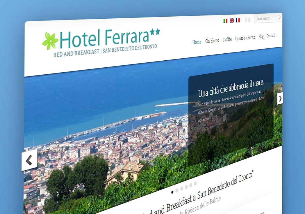 Nuovo sito Hotel Ferrara
