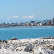 San Benedetto del Tronto, between sea and hills.