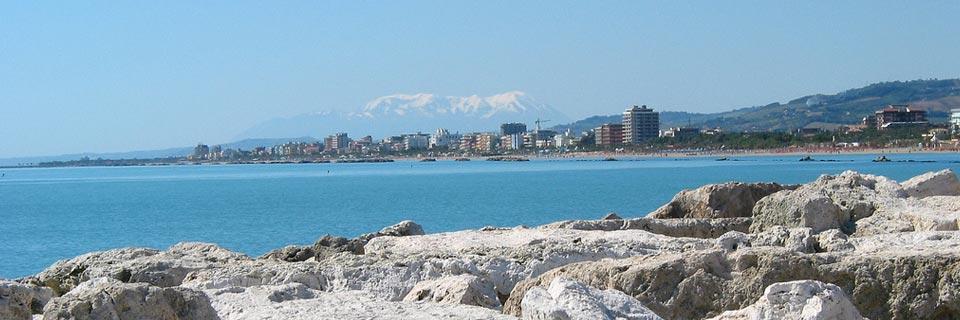 San Benedetto del Tronto, tra mare e colline.