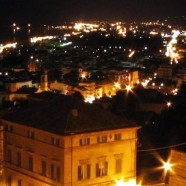 San Benedetto del Tronto. During the day at the beach in the evening to the medieval town.